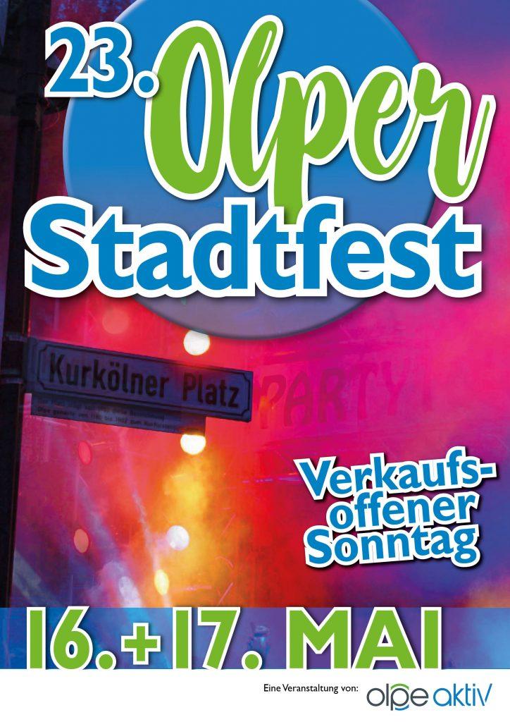 Stadtfest Olpe 2020