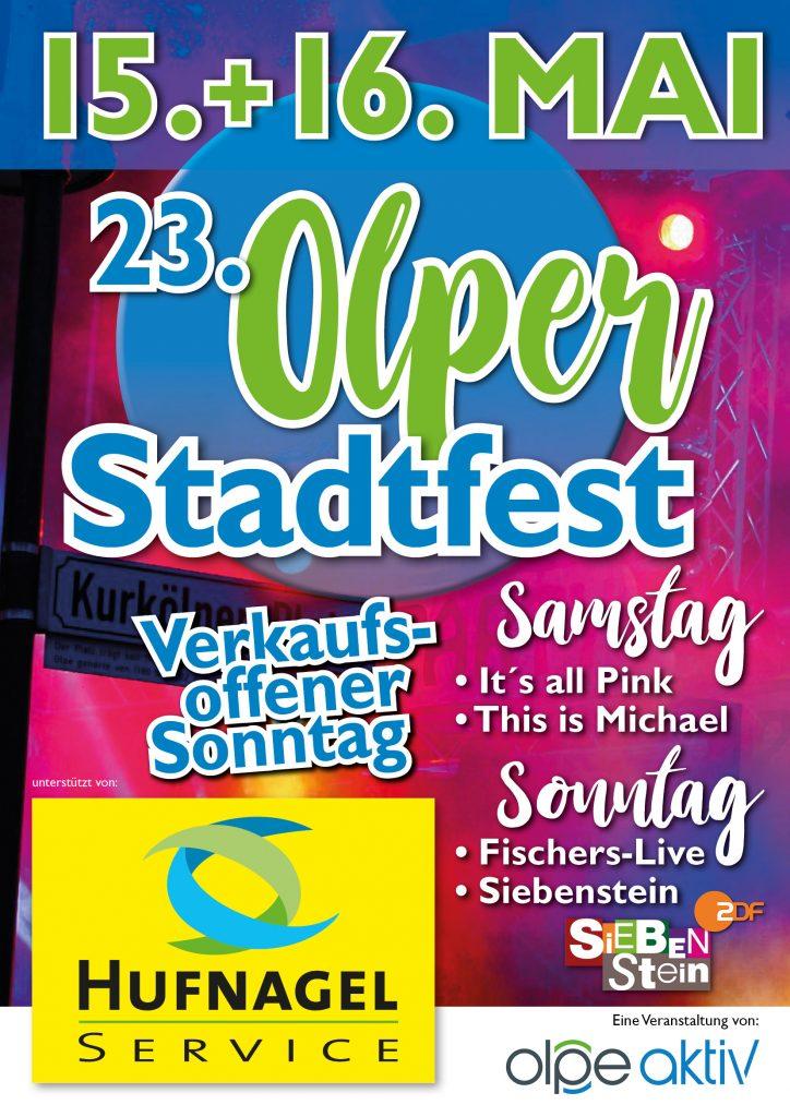 Stadtfest Olpe 2021